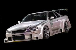 R34 SKYLINE 2Dr     GT フェンダーキット